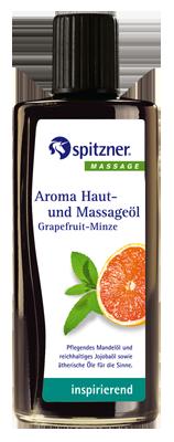Grapefruit – Mint massage oil