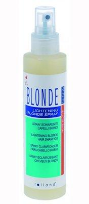 Lightening blonde spray