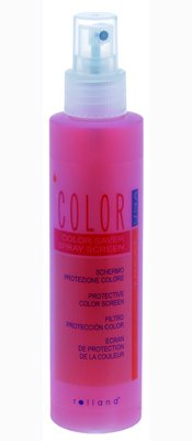 Color saver spray screen
